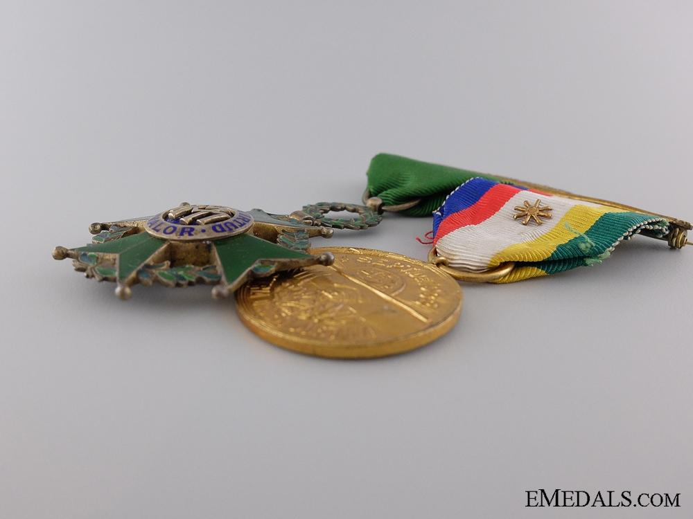 A Cuban Military Medal Libertad Pairing