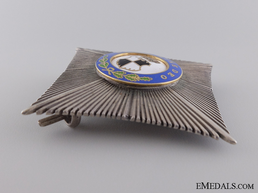 A 1938-40 Romanian Order of the Ruling House; Commander's 2nd Class Star