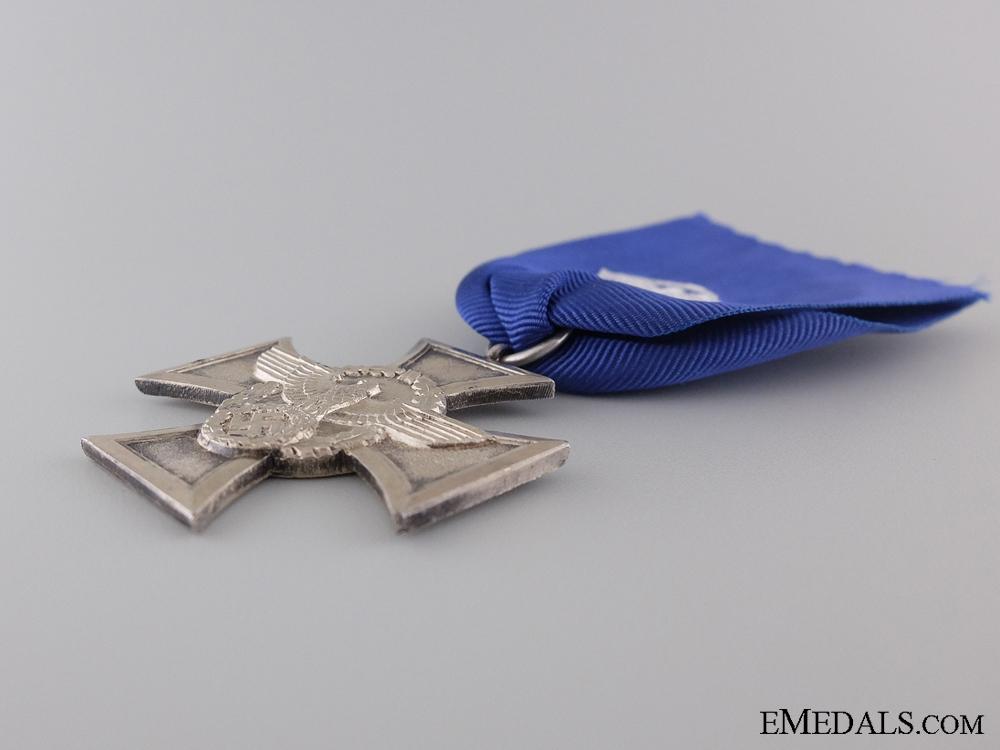 A Police Long Service Cross; 2nd Class