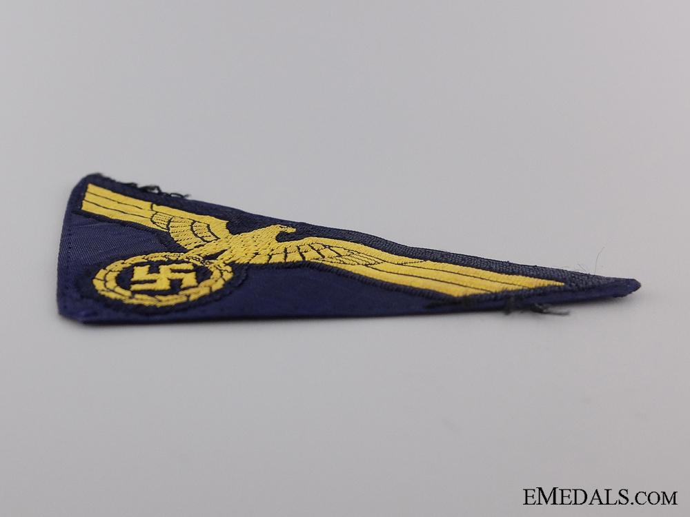 A Uniform Removed Kriegsmarine NCO Breast Eagle
