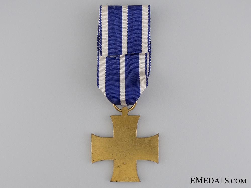 A 1914 Lippe-Schaumburg Loyal Service Cross