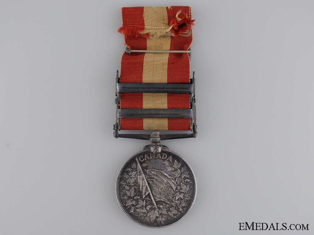 A Canada General Service Medal to Bugler Norris; 8th Battalion