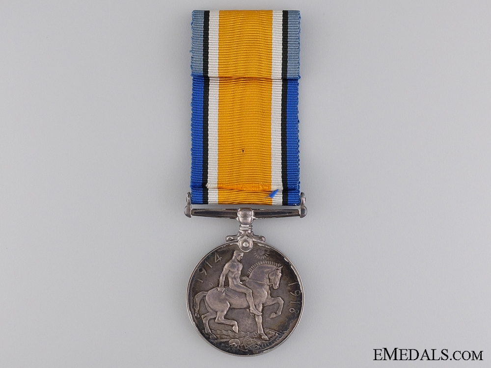 Canada. A British War Medal to Captain Lougher; C.A.M.C.