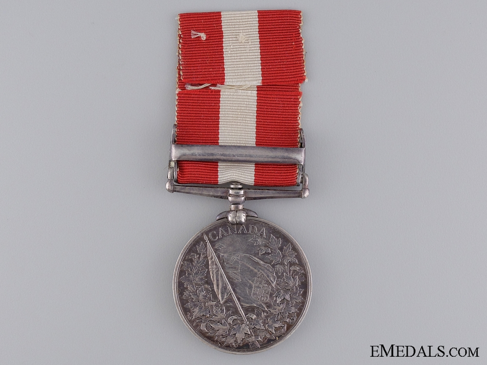 1866-70 Canada General Service Medal to the 37th Battlion