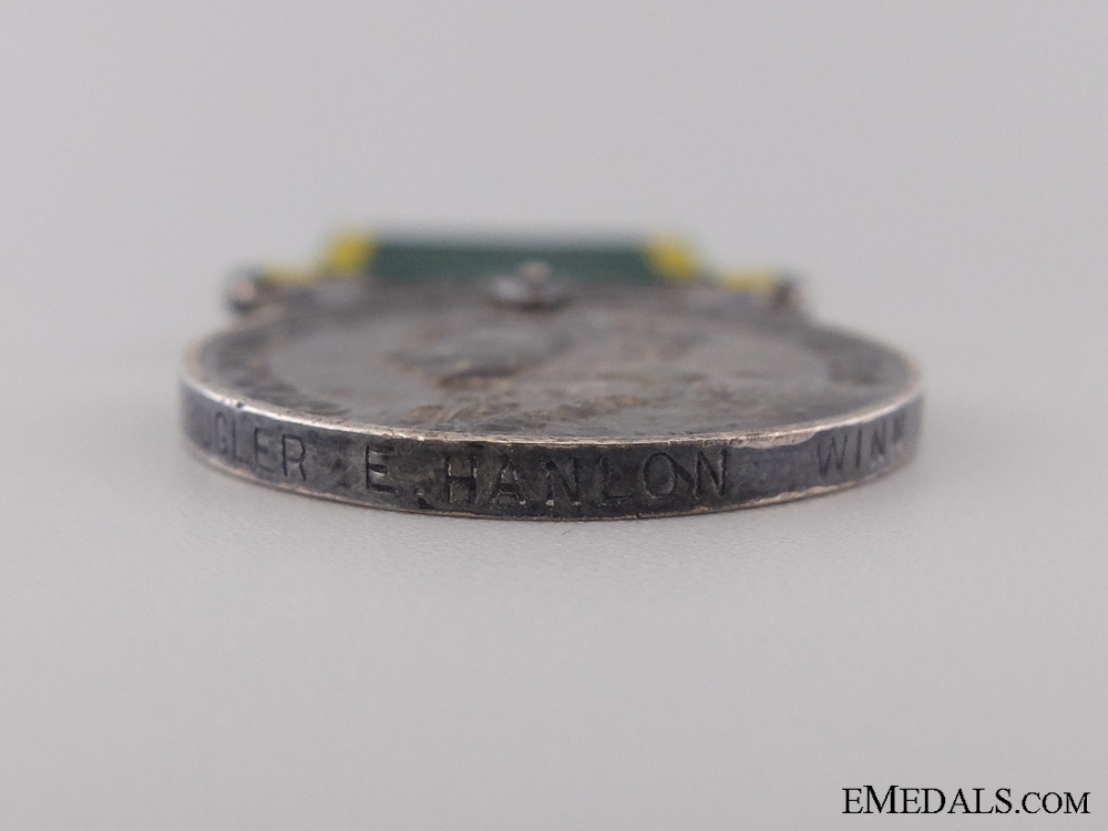 An Efficiency Medal to the Bugler of Winnipeg Rifles