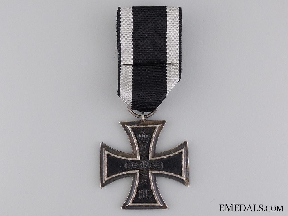 An First War Iron Cross 2nd Class 1914; Marked LW