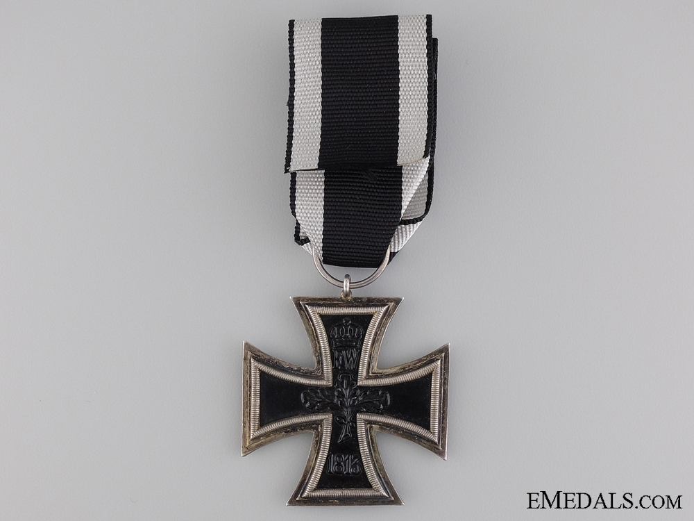 An First War Iron Cross 2nd Class 1914; Marked W