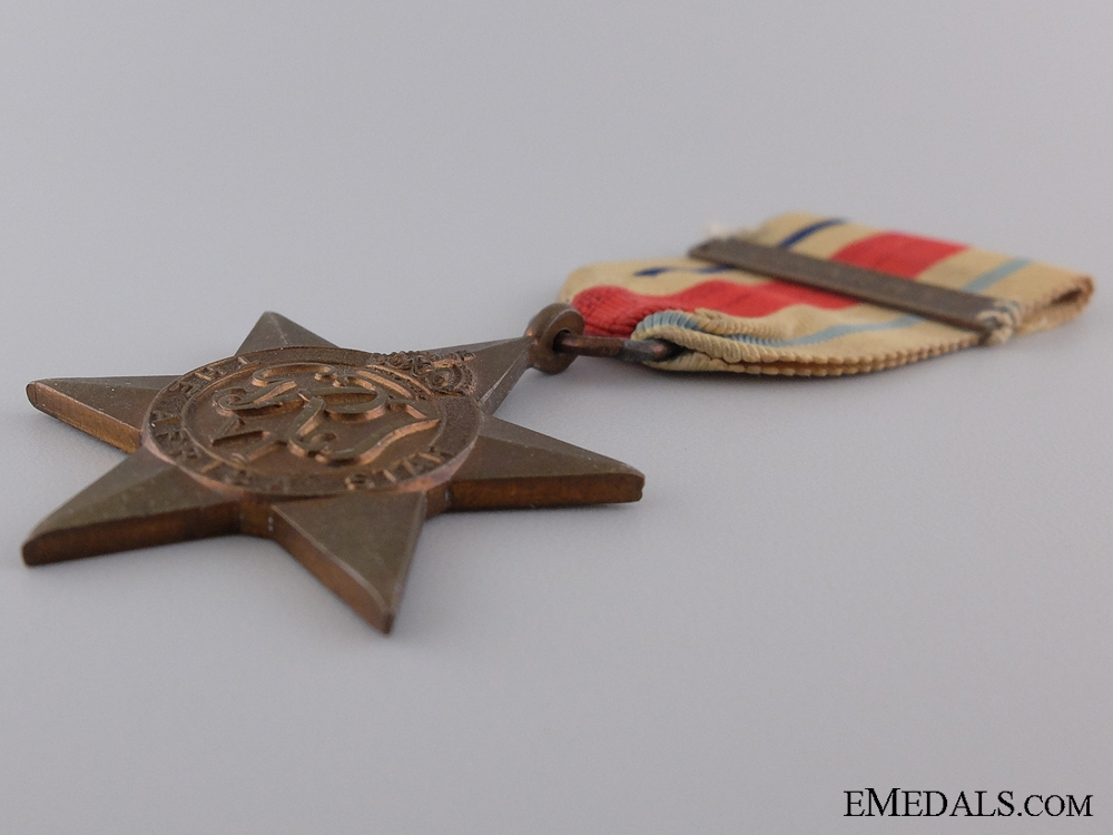 A Second War Africa Star; 8th Army Bar