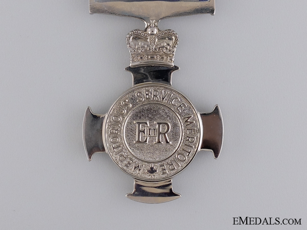 A Canadian Meritorious Service Cross