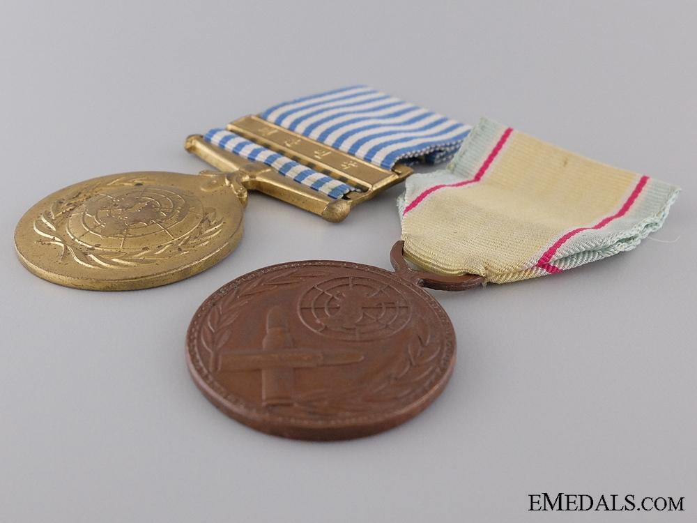 A South Korean UN Campaign Medal Pair