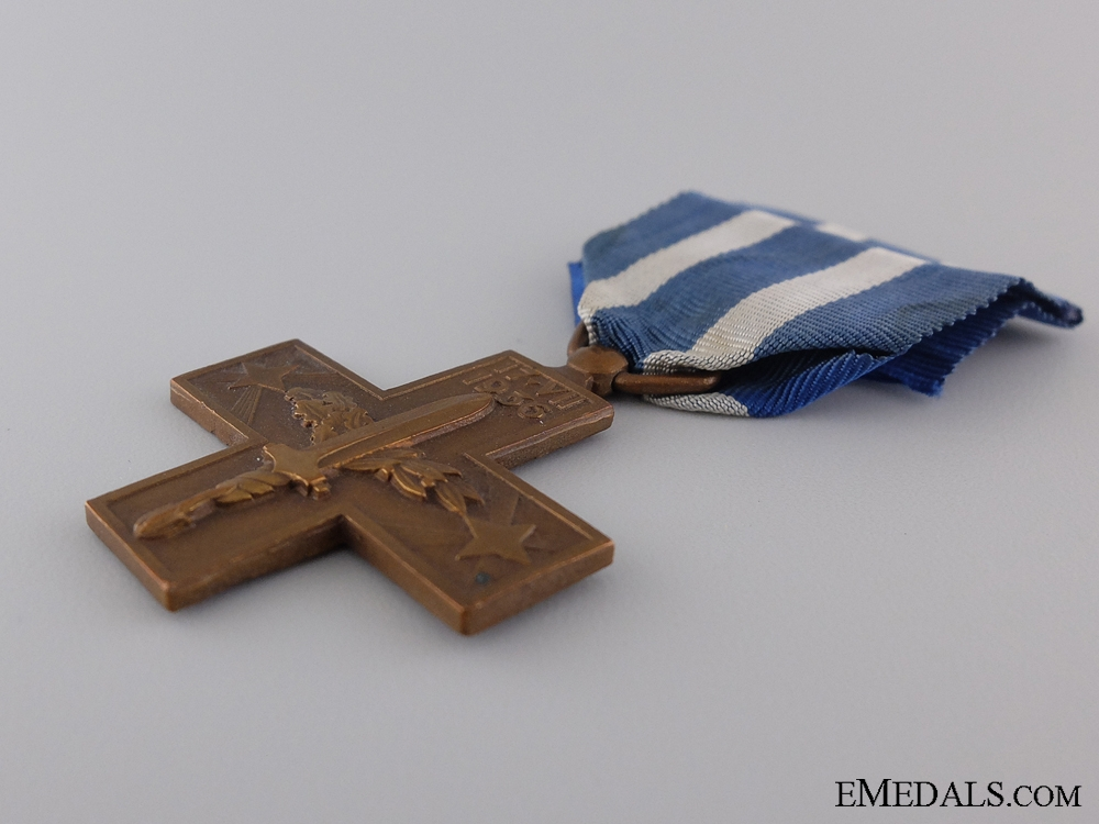 An Italian War Cross; Spanish Civil War Type