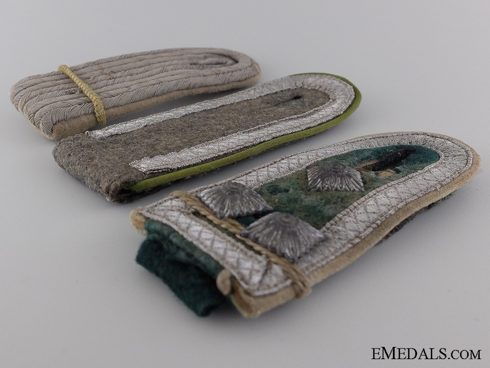 Three German Army Shoulder Boards