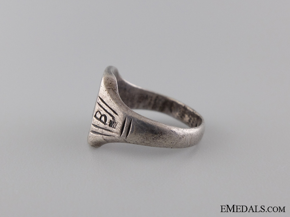 A Silver 1941-42 Krim Campaign Ring