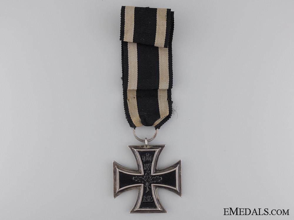 An First War Iron Cross 2nd Class 1914; Marked 800 Silver