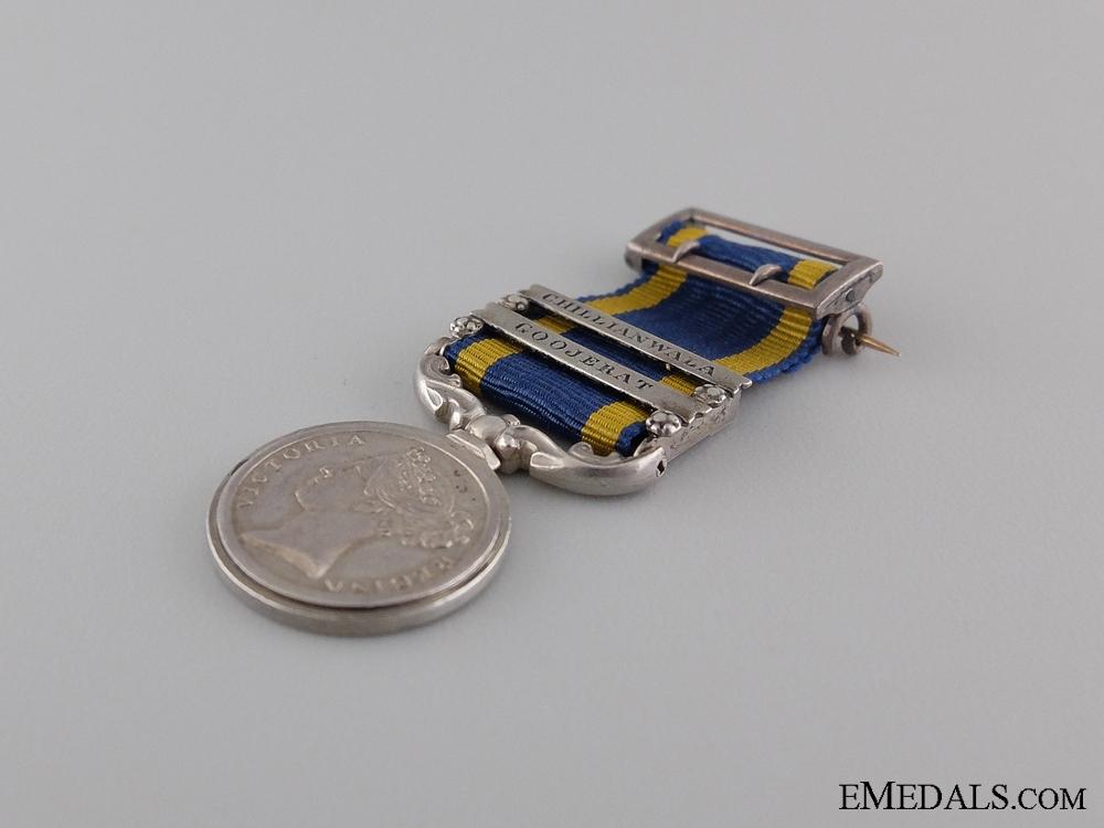 An 1848-49 Miniature Punjab Medal