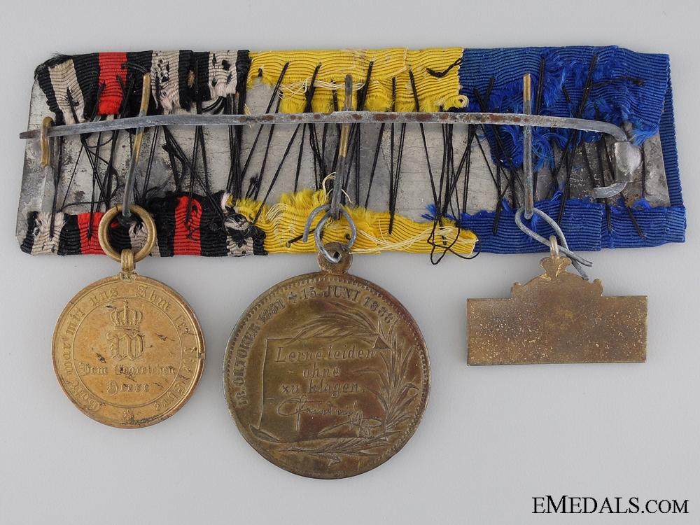 A Kaisar Friedrich Commemorative Medal Bar