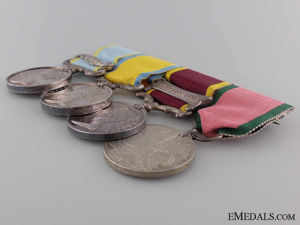 A Victorian Campaign Medal Bar
