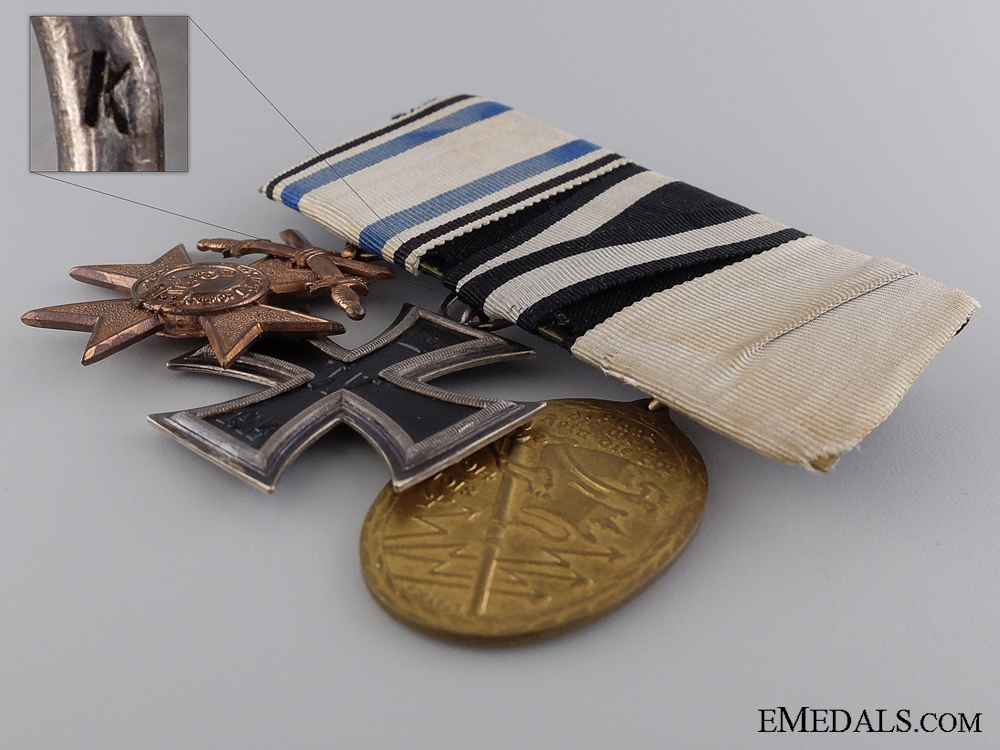A First War Bavarian Veteran's Group of Three Awards