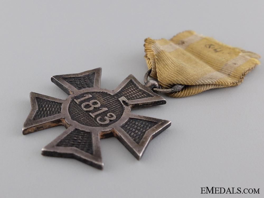 A 1813-1815 Dutch Silver Cross