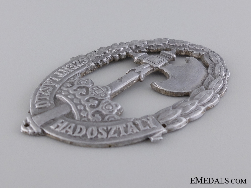 "A Second War Hungarian ""¢�Szent L¡‡szl¡_""¢� Badge"