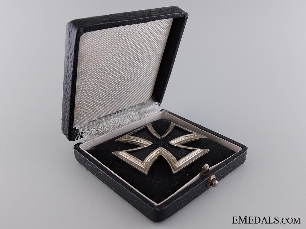 An Iron Cross 1st Class 1939 by E.F. Wiedmann