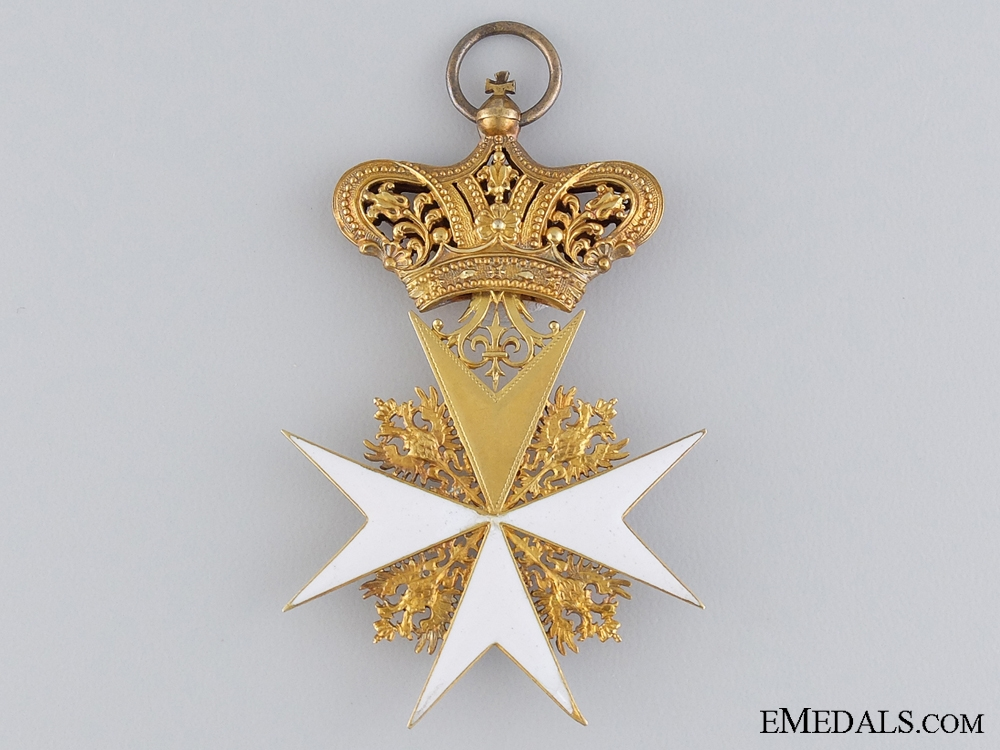 An Early Austrian Order of Saint John in Gold; C.1835