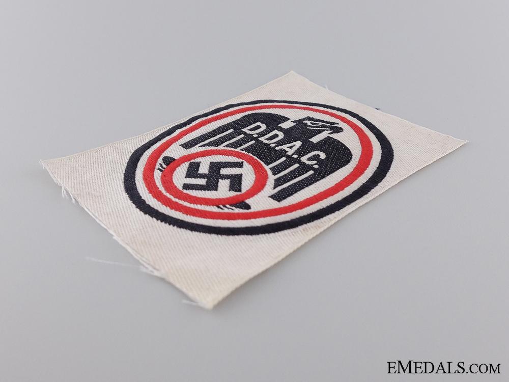 A German Automobile Club (D.D.A.C.) Membership Patch
