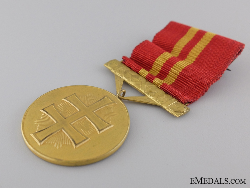 A Slovakian Order of the War Victory Cross; 5th Class Medal