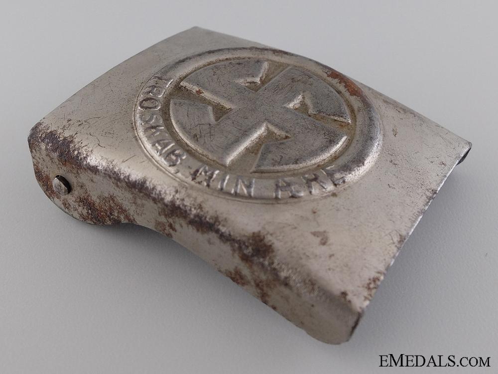 A Ultra Rare Danish Schalburg Corps Belt Buckle