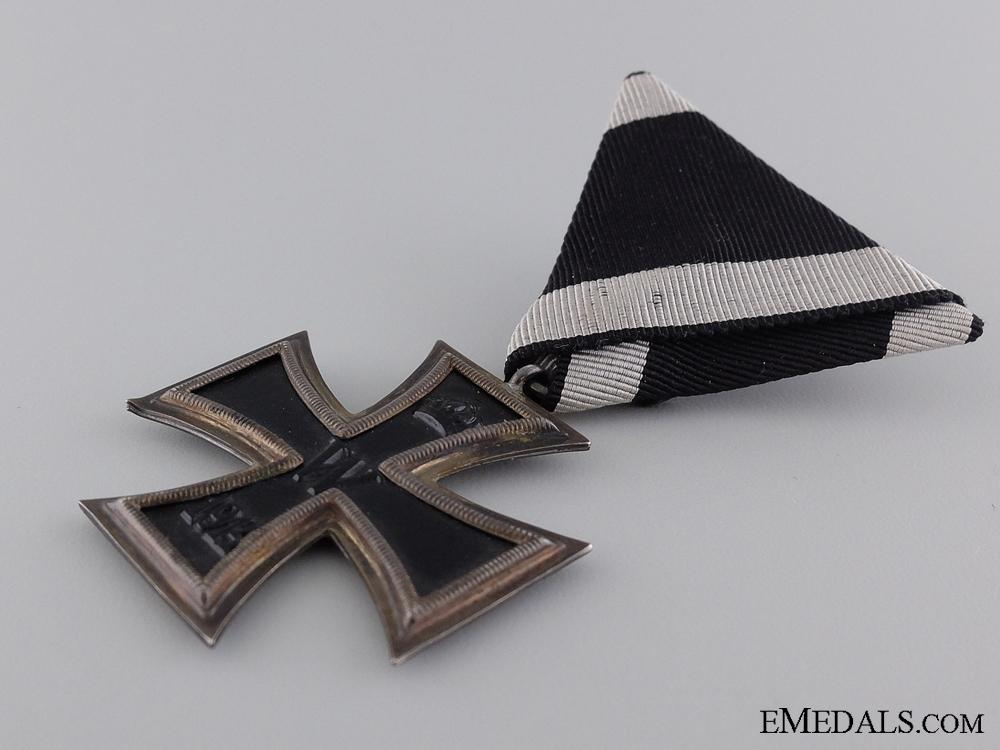 A Fine First War Iron Cross 2nd Class 1914; Marked KO