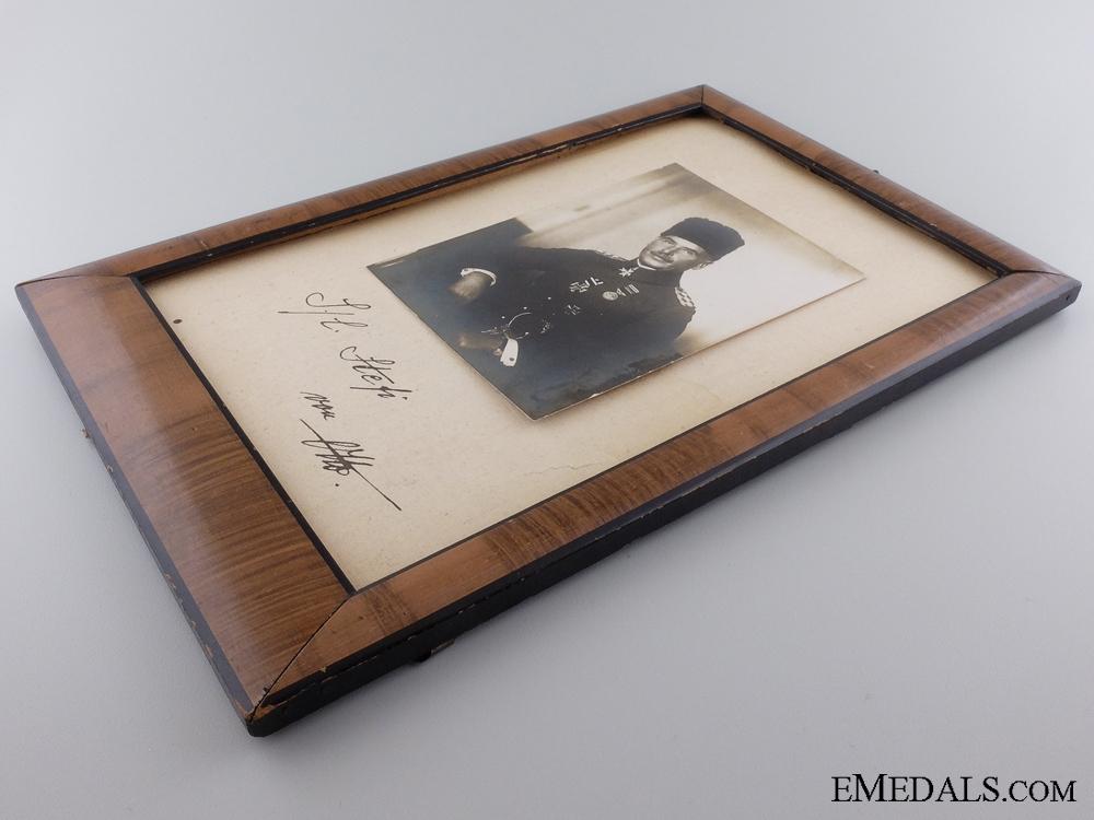 WWI Photograph & Signature of Otto Liman von Sanders