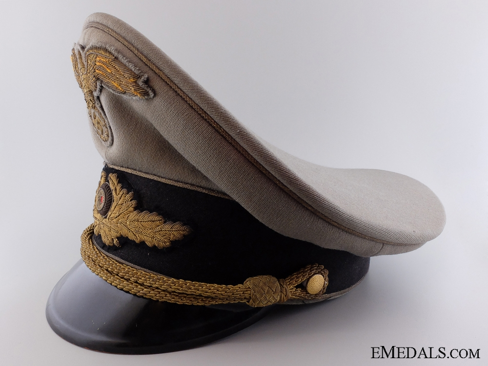 The Diplomatic General's Visor Cap of Otto Bene