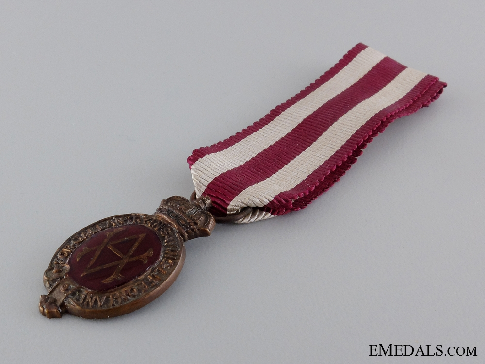 A Miniature Albert Medal; 2nd Class Land Service Medal