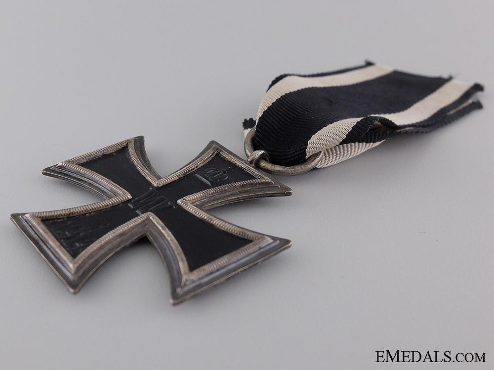 An Iron Cross 1914; Second Class by Carl Dillenius