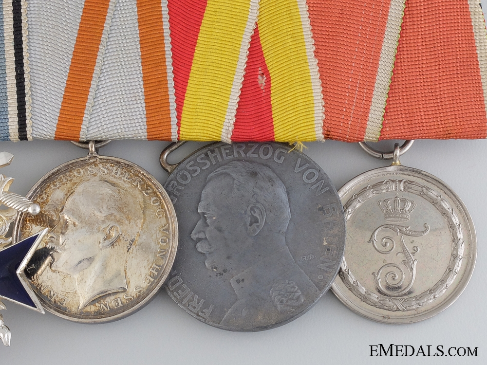 A First War Bavarian Military Merit Medal Bar