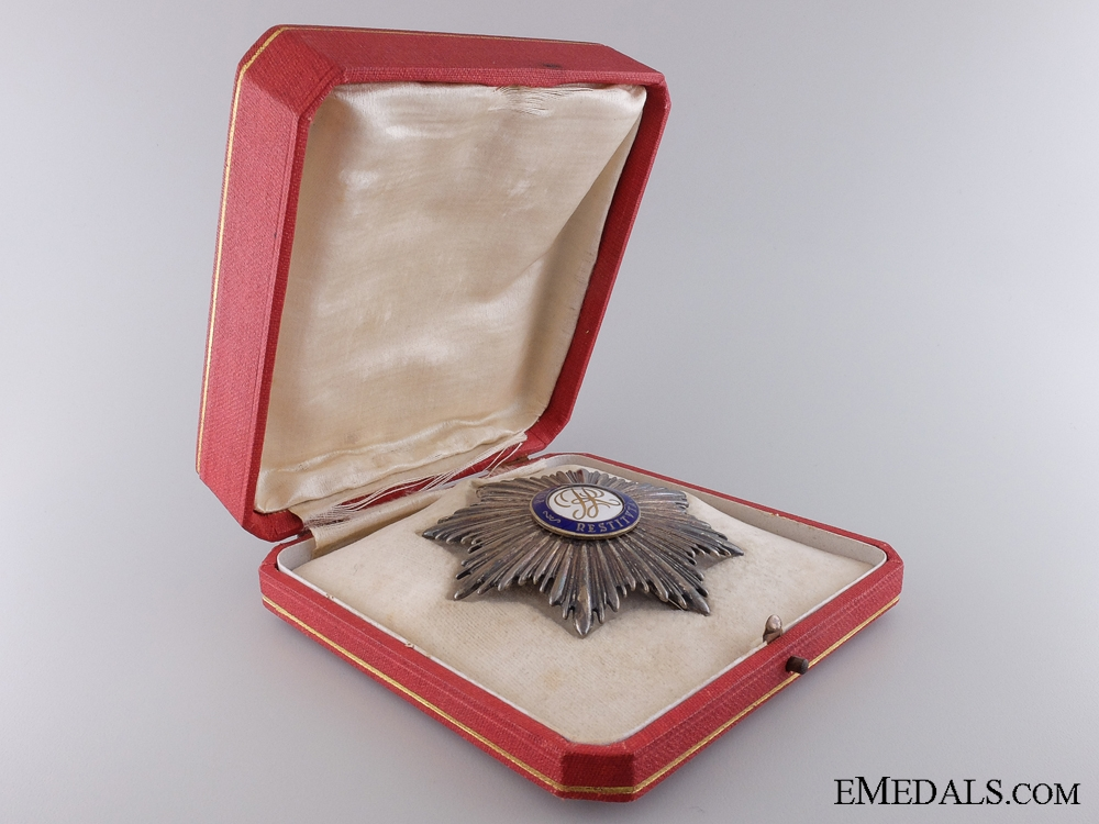 An Order of Polonia Restituta; Breast Star