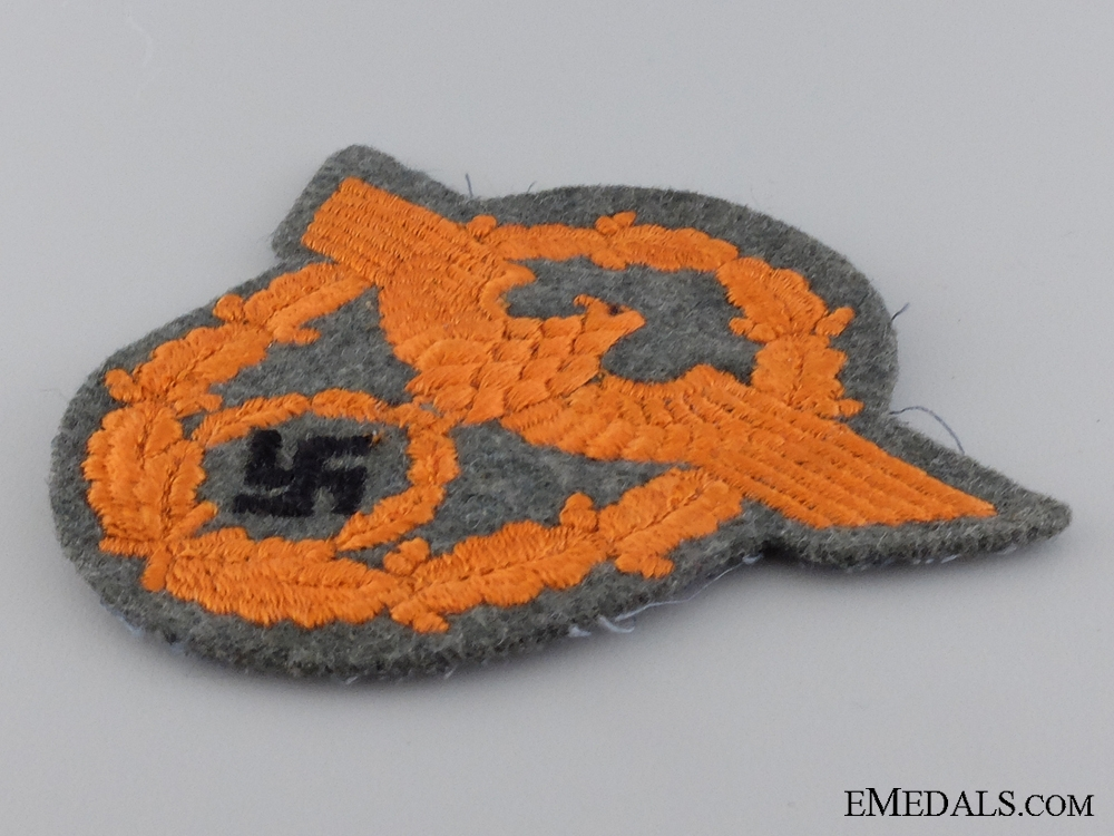 A German Gendarmerie NCO's Sleeve Eagle