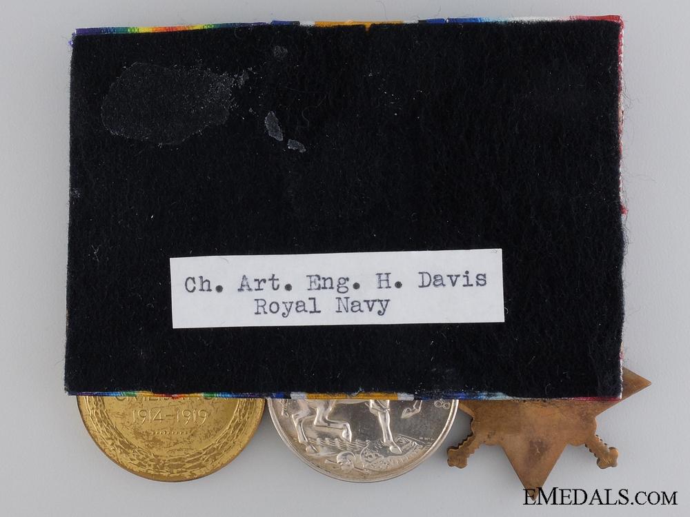 A First War Trio Lieut. Henry; H.M.S. Duke of Edinburgh