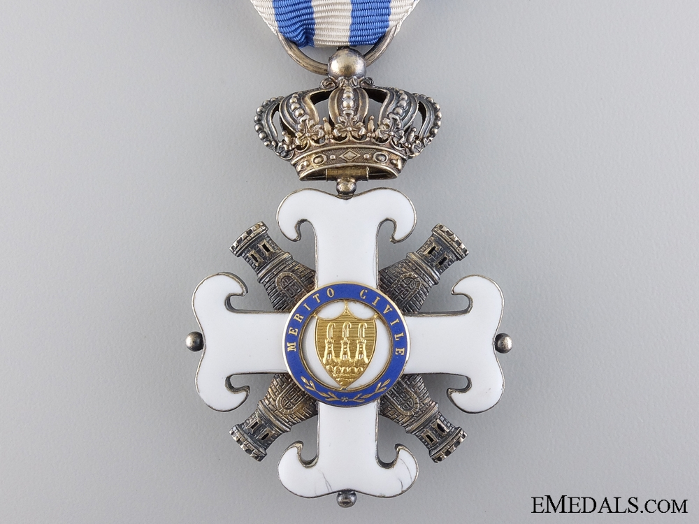 An Order of San Marino; Civil Merit