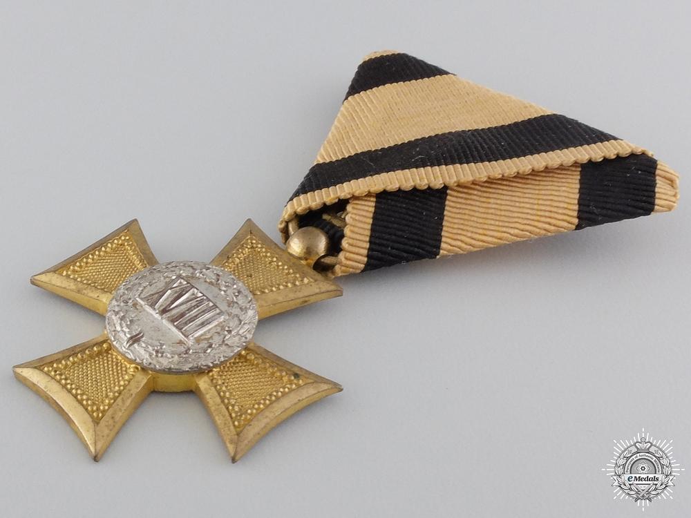 An Austrian Long Service Cross for 18 Years