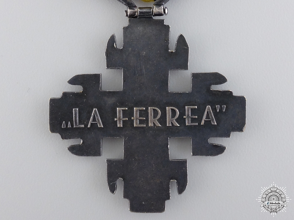 An Italian 2nd Division Black Shirtts Commemorative Cross