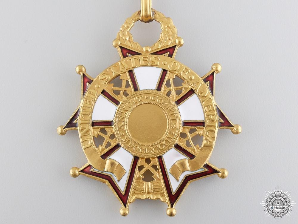 An American Legion of Merit; Commander`s Neck Badge