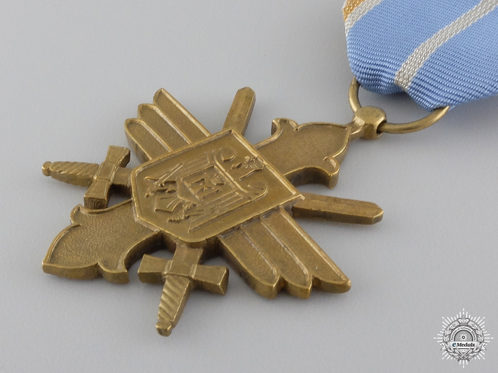 A Romanian Air Force Merit Cross with Swords