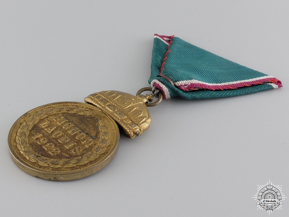 A 1922 Hungarian Officer's Merit Medal