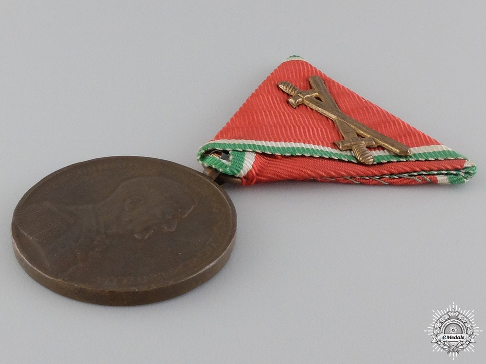 A Second War Hungarian Bravery Meda