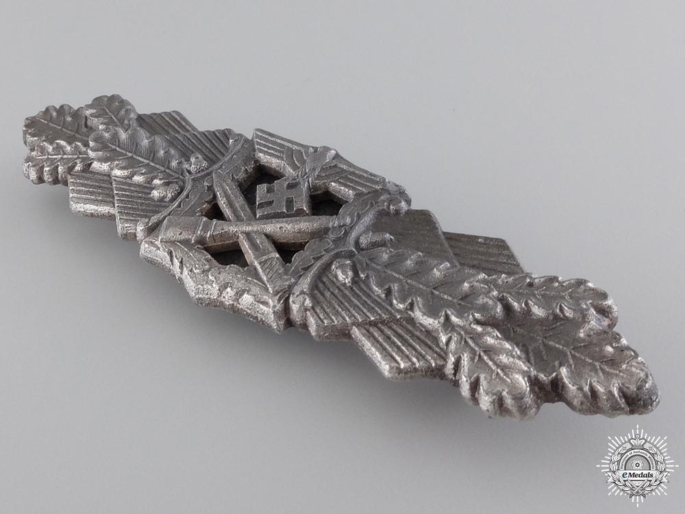 A Silver Grade Close Combat Clasp by Friedrich Linden, L¡_denscheid