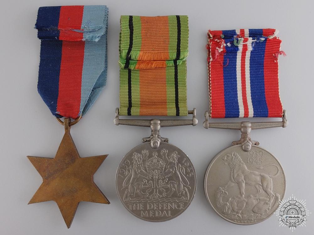 A Second War Royal Air Force (RAF) Air Gunner's (AG) Group