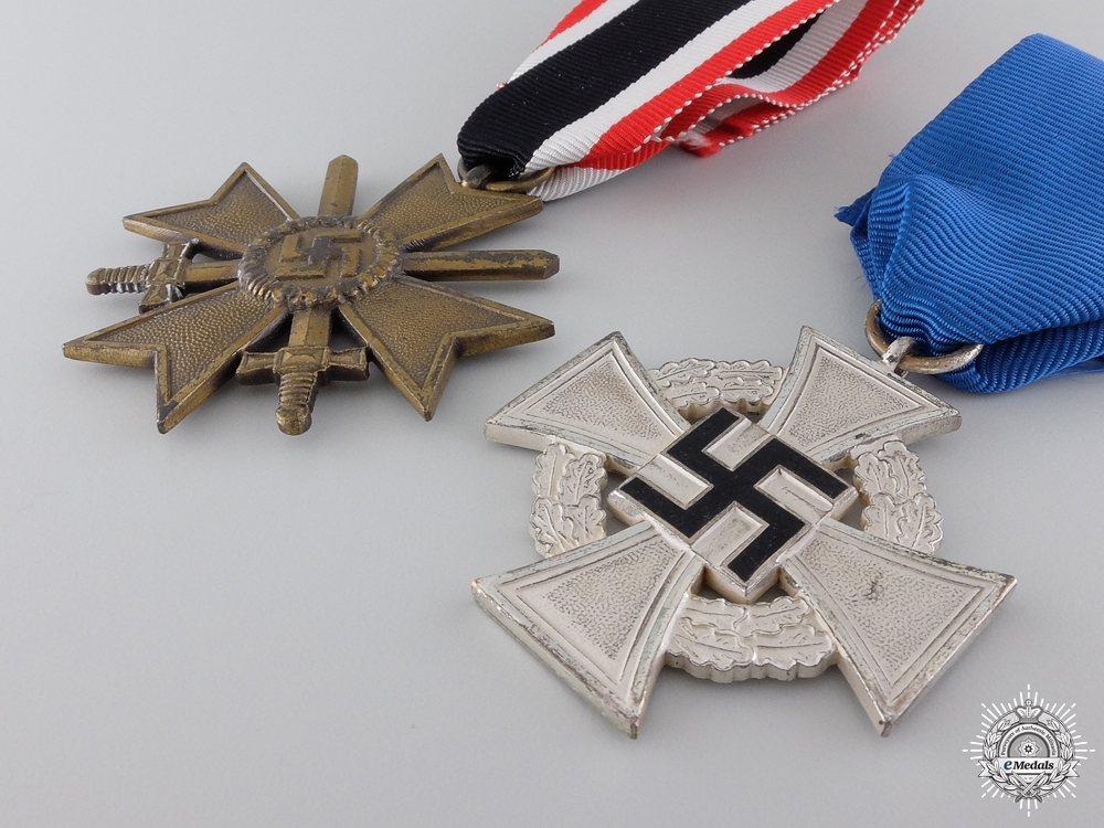 Two Second War German Awards