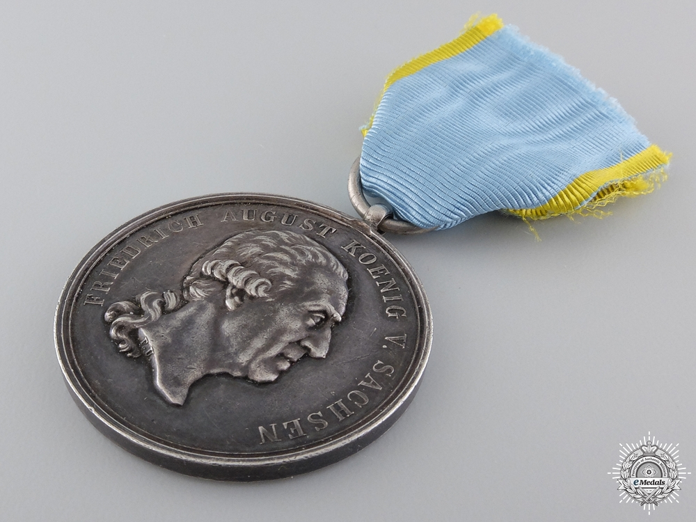 A Saxon Military Merit Medal; Order of St.Henry