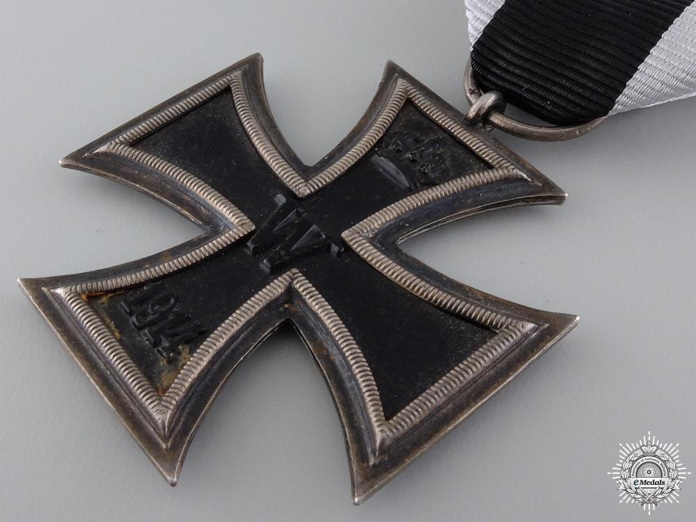 An Iron Cross Second Class 1914; Marked K